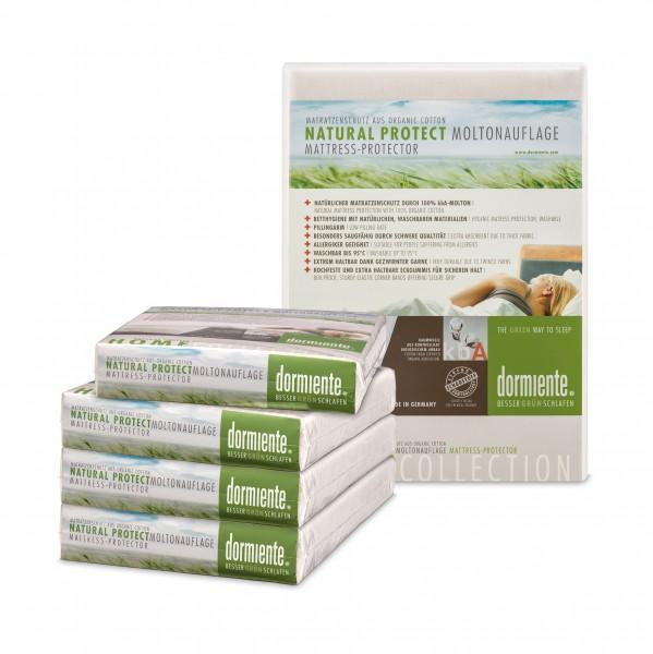 Moltonauflage mit Eckgummis Natural Protect